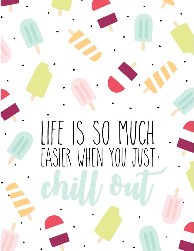 Printable Popsicle Wallpaper