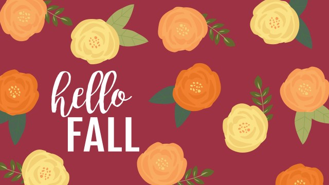 September Desktop Hello Fall
