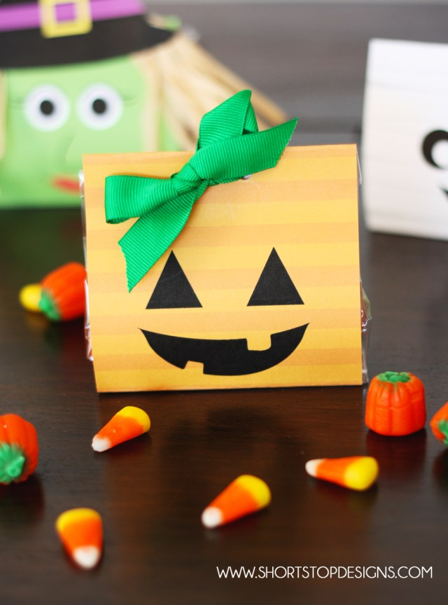 Pumpkin Halloween Treat Bag