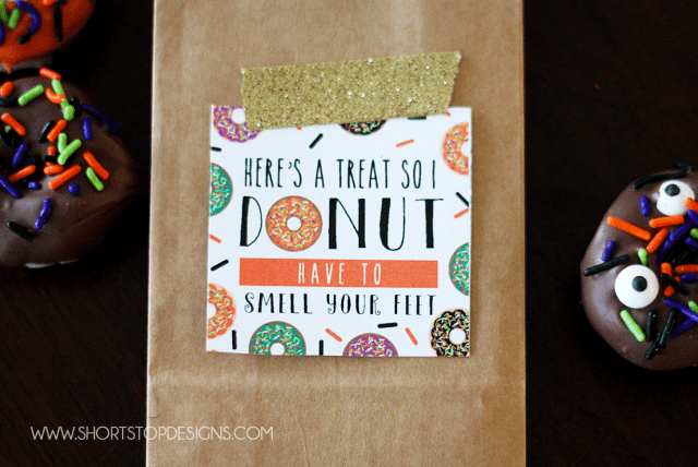 Printable-Halloween-Donut-Tag