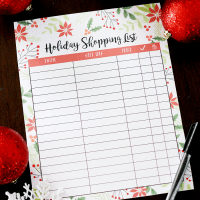 Uncommon Goods Christmas Gift Ideas + Holiday Shopping List Printable