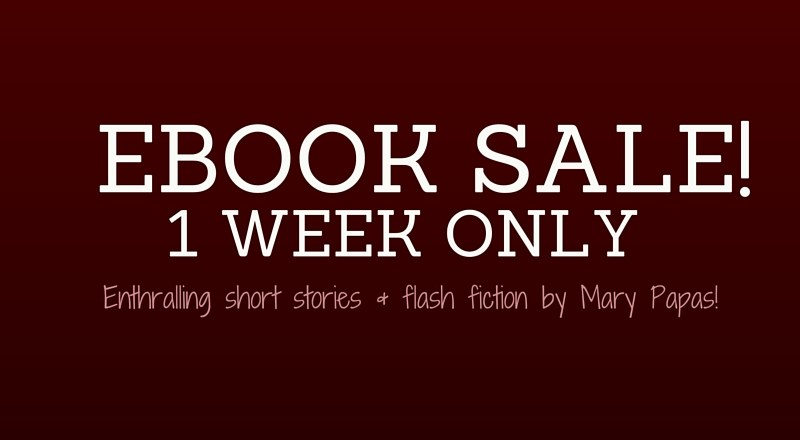 $0.99 eBook Sale — 1 Week ONLY!