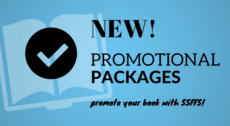 New: Promotional Packages in the Writer's Shop!