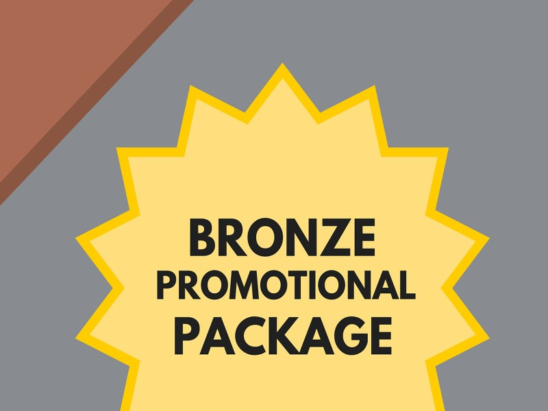 Bronze Promotion Package