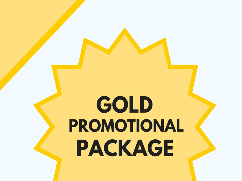 Gold Promotional Package