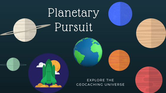 geocaching shortyknits planetary pursuit