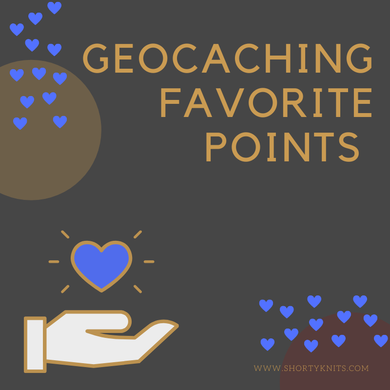 Geocaching Favorite Points