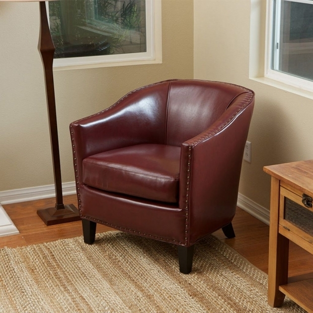 Sams Leather Club Chairs