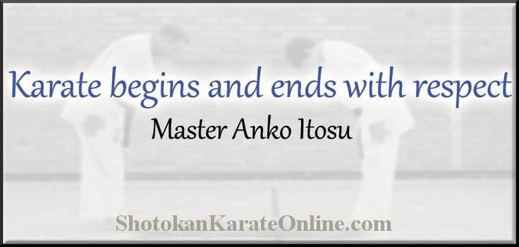 karate respect