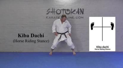 kiba dachi