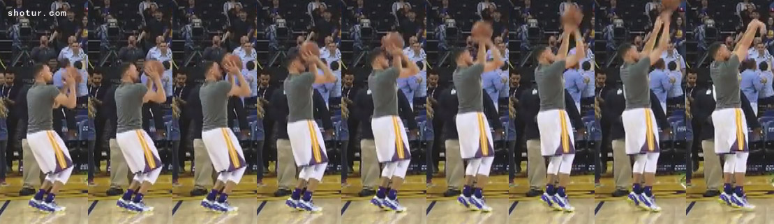 Stephen Curry Shooting Form Slow Motion Frame by Frame Pic ...
