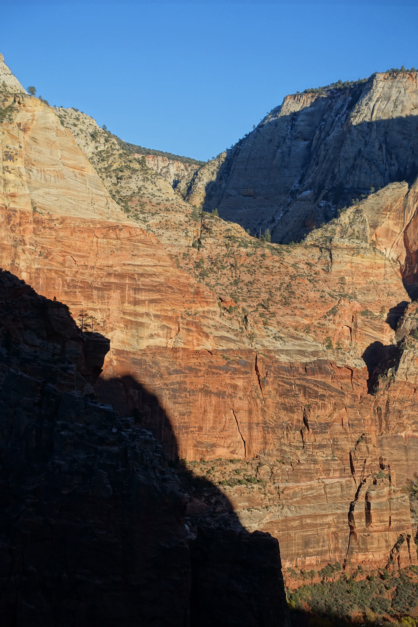 Looking toward Echo Canyon from Angel's Landing