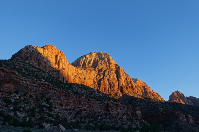 Sunset near Canyon Junction