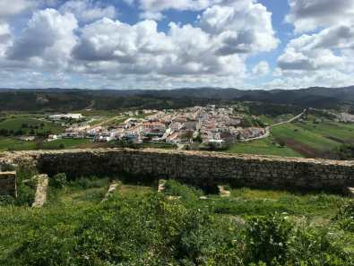 View of Aljezur from the Castle