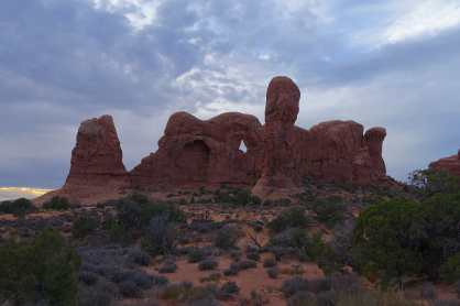 Parade of Elephants, Windows Section, Arches National Park