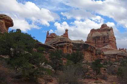 Elephant Canyon Hike, The Needles District, Canyonlands National Park
