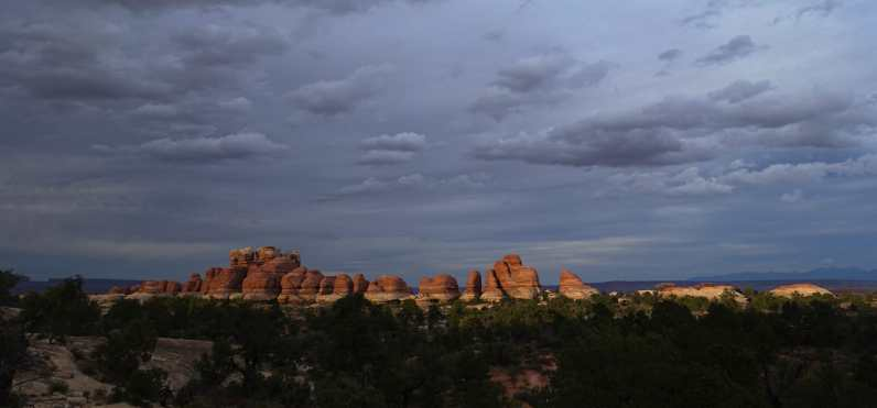 Dusk over the Needles District, Canyonlands National Park