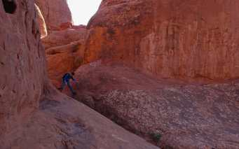 Fiery Furnace, Arches National Park