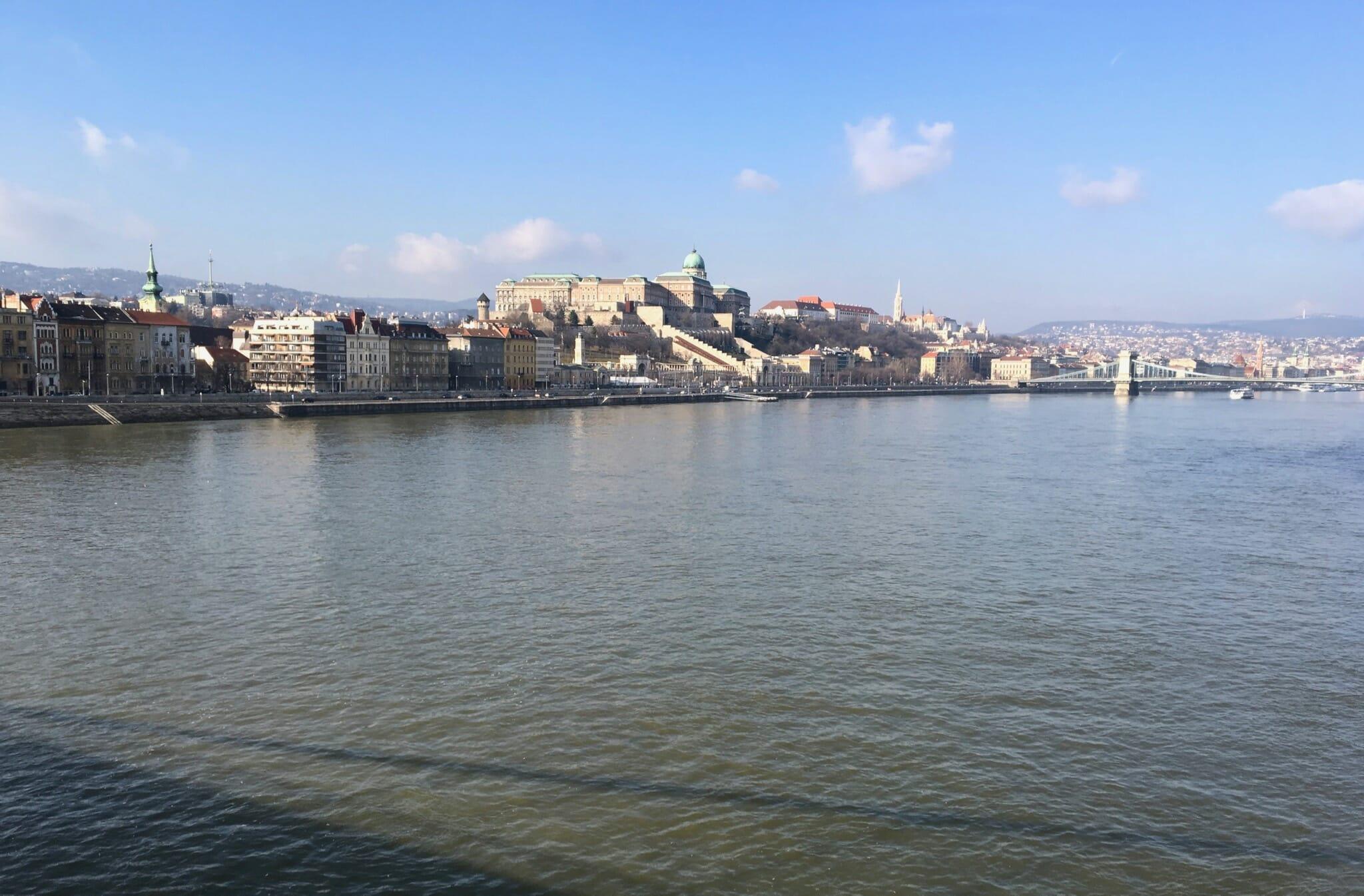 Buda Castle from the Elisabeth Bridge
