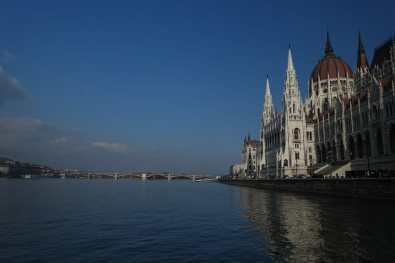 Parliament Building and Danube River