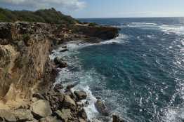 Kauai's southern coast from the Maha'ulepu Heritage Trail, Kauai