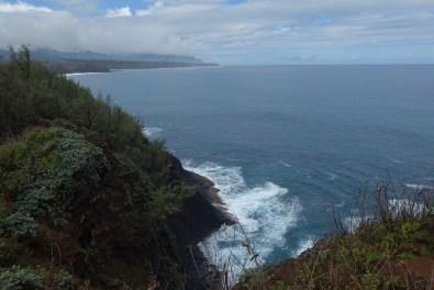 Coast at Kilauea National Wildlife Refuge