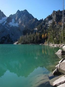 Colchuck Lake and Dragontail Peak