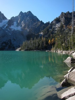 Colchuck Lake and Dragontail Peak