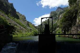 Dam on the Cares River