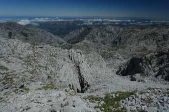 views on the way to Jou de Los Cabrones