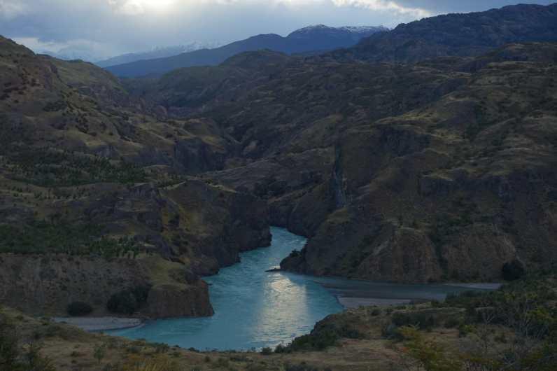 La Confluencia de Rio Cochrane y Chacabuco at dusk