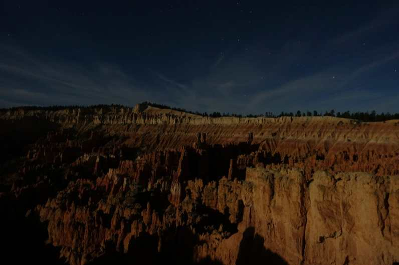 Night at Sunset Point, Bryce Canyon National Park