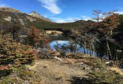 Fall colors at Laguna Norita