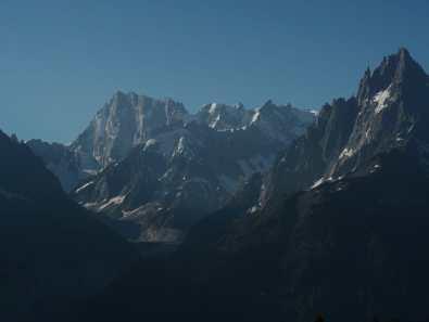 Morning views from La Flégère