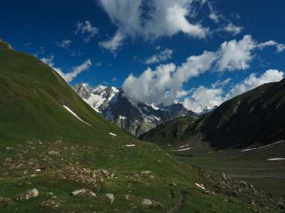 Valley above Bonatti