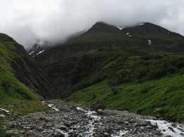 Stream in Valle des Glaciers