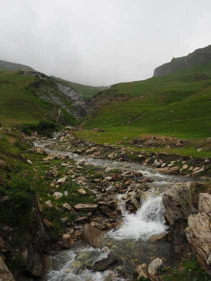 Stream on the way to Refuge de la Croix du Bonhomme