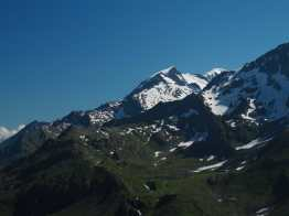 Lacs Jovet and Mont Blanc from Col du Bonhomme