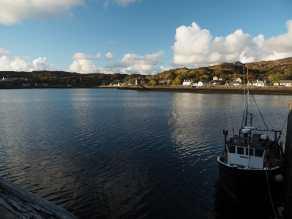 Lochinver waterfront, Scotland