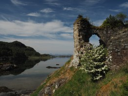 Strome Castle and Lochcarron