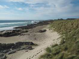 Beach at Saligo Bay, Islay
