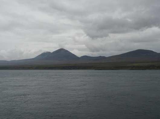 view of Jura from Port Askaig