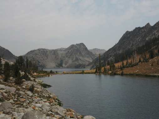 Tarn and Sawtooth Lake