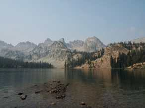 Alice Lake, Sawtooth Mountains, Idaho