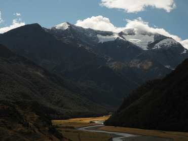 West Matukituki valley and mountains, Mount Aspiring National Park, New Zealand