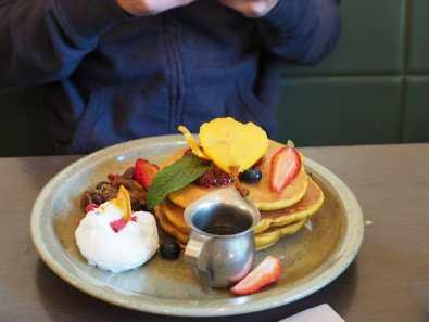 Orange zest pancakes at Vudu Larder, Queenstown