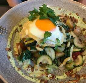 Veggie Hash at Vudu Larder