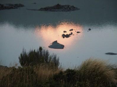 Aoraki reflected in Mueller Glacial Lake