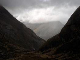approaching Routeburn Falls