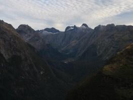 view from Mackinnon Pass